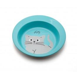 """Ciotola in acciaio inox """"Kitty"""", colori assortiti 300ml"""
