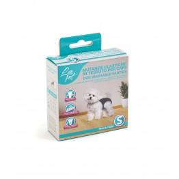 Mutande elastiche in tessuto per cani S 24-31 cm