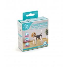Mutande elastiche in tessuto per cani M 32-39 cm