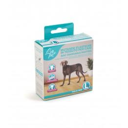 Mutande elastiche in tessuto per cani L 40-49 cm