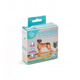 Mutande elastiche in tessuto per cani XL 50x59 cm
