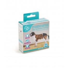 Mutande elastiche in tessuto per cani XXL 60x70 cm