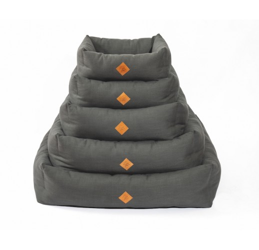 Cuccia Elba con cuscino estraibile, antracite 70x85 cm