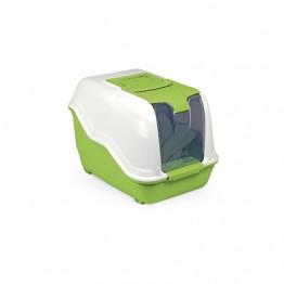 Cat litter tray NETTA MINI assorted colours 54X39X40h cm