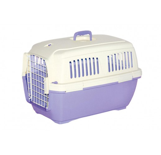 TRANSPORT BOX FOR DOGS AND CATS CLIPPER CAYMAN 2 PARMA-BEIGE