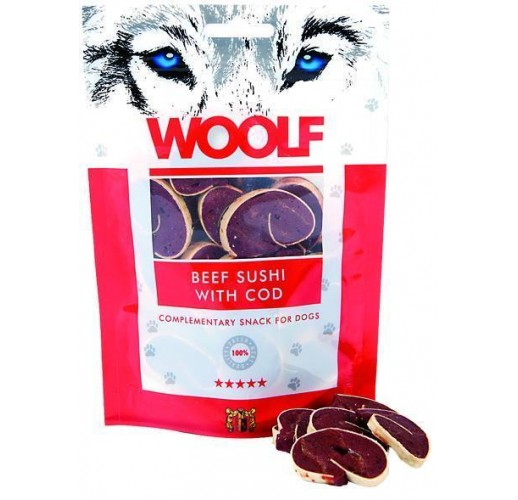 Woolf 100 gr. Beef Sushi with Cod