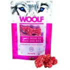 Woolf 100 gr. Small Bone of Duck and Rice