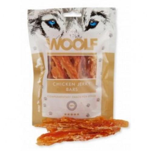 Woolf 100 gr. Chicken Jerky Bars