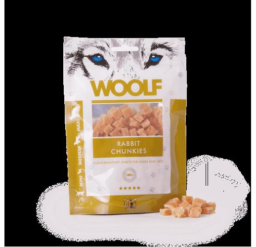 Woolf 100 gr. Rabbit Chunkies