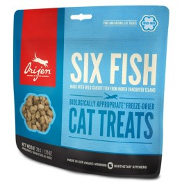Orijen Cat - Snack Freeze Dried SIX FISH 35 gr