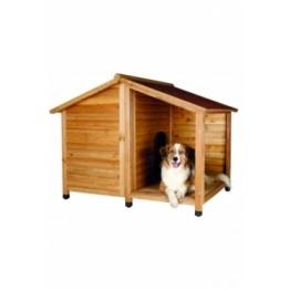 Cuccia per cani con terrazza / 2 cartoni 130x100x10