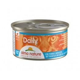 Almo PFC Cat Daily Menu Mousse con Tonno e Merluzzo 85 gr.