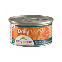 Almo PFC Cat Daily Menu Mousse con Tonno e Pollo 85 gr.