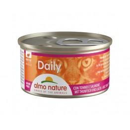 Almo PFC Cat Daily Menu Mousse con Tonno e Salmone 85 gr.
