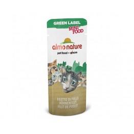 ALMO HFC CAT MINI FOOD Filetto di Pollo 3 gr.