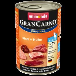 Animonda, Hund, GranCarno Junior mit Huhn + Kaninchen 400 gr.