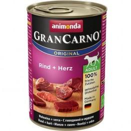 Animonda, GranCarno Adult con Manzo + Cuore  400 gr.
