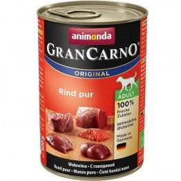 Animonda, chien GranCarno Adult boeuf pur 400 gr.