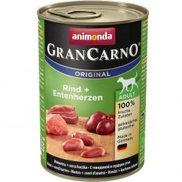Animonda, GranCarno Adult con Manzo + cuori d'anatra 400 gr