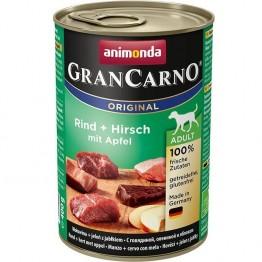 Animonda, GranCarno Adult con Manzo + Cervo e Mela  400 gr