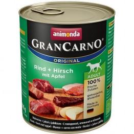 Animonda, GranCarno Adult con Manzo + Cervo e Mela 800 gr.
