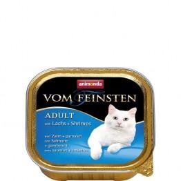 Animonda Vom Feinsten ADULT avec saumon + crevettes 100 gr.