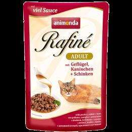 Animonda Rafiné Adult Geflügel und Kaninchen + Schincken 100 gr.