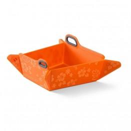 Ciotola pieghevole, arancione 550ml