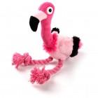 Dog Toy Ultrasonic Flamingo