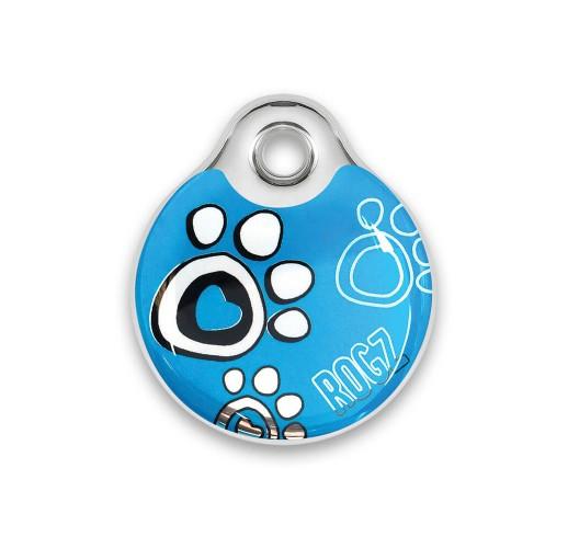 Pet ID Tags TPaw Turquoise S (Ø27cm)