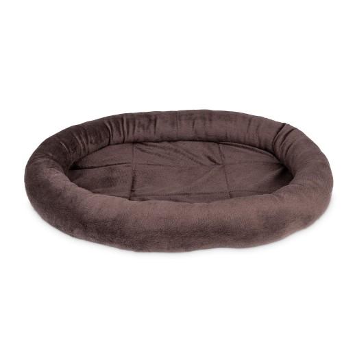Cuccia per cani e gatti Ovale marrone (48x32cm)