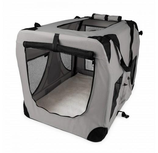 Box per cani pieghevole Angera M 60x42x42cm