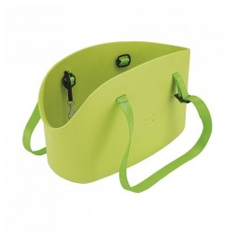 Borsa trasportino Ferplast With Me, verde (43.5x21.5x27cm)