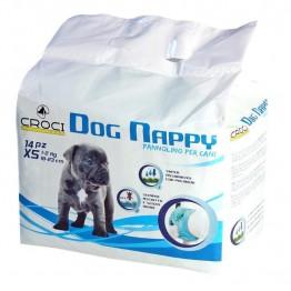DOG NAPPY XS 28-35CM 1-2KG 14 Pz.