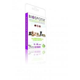 Biospotix antiparassitario 100% naturale per cani piccoli & medi - pipette 5 x 1 ml