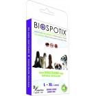 BIOSPOTIX ANTIPARASSITARIO 100% NATURALE PER CANI GRANDI - PIPETTE 3 X 3 ML