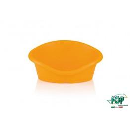 Toffee 1 cm 50 Fluo Arancione