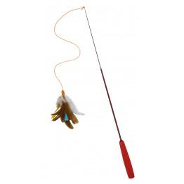 Canna allungabile con piuma da 37 a 94 cm