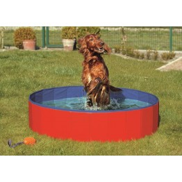 Piscina per cani 160x160x30cm
