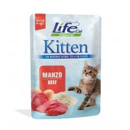 Lifecat Kitten Beef 70 gr.