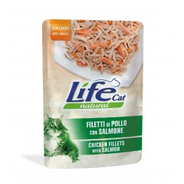 Lifecat chicken with salmon & carrots 70 gr.