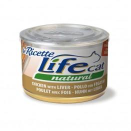 Lifecat Le ricette Chicken liver and carrots 150 gr.