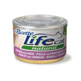 Lifecat Le ricette Chicken ham and green beans 150 gr.