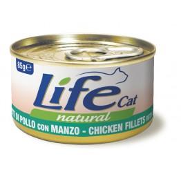 Lifecat chicken with beef 85 gr.