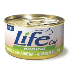 Lifecat chicken with duck  85 gr.