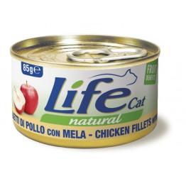Lifecat chicken with apple 85 gr.