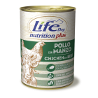 Lifedog chicken with beef NUTRITION PLUS 400G