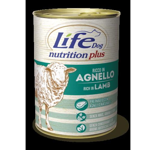 Lifedog lamb & rice NUTRITION PLUS 400G