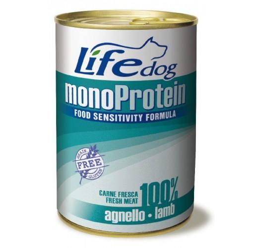 Lifedog monoprotein lamb 400 gr.