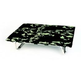 Brandina Lettoflex in alluminio, mimetico verde 60x100 cm